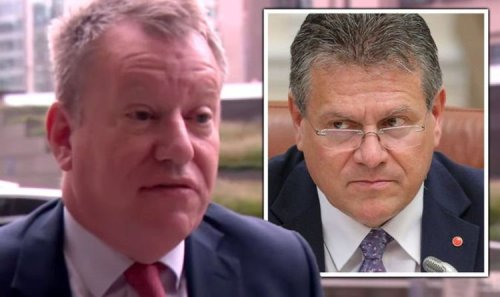 Brexit LIVE: Dead in water! Fears EU talks to collapse before they begin– Frost lashes out