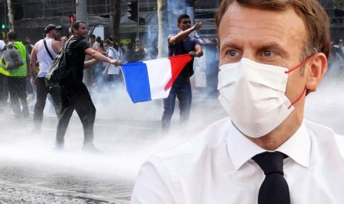 Against this tyranny! Macron warning as huge protest against France's new laws planned