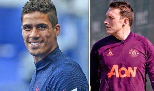 Man Utd target Raphael Varane's comments on Phil Jones as Ole Gunnar Solskjaer eyes deal