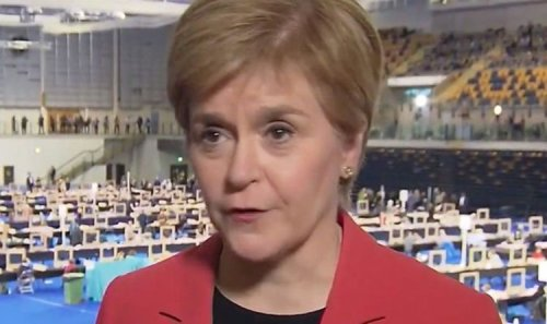 Nicola Sturgeon squirms as she refuses to back SNP to get majority in crucial election