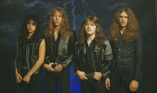 Metallica recorded their debut album Kill 'Em All in a 'haunted mansion'