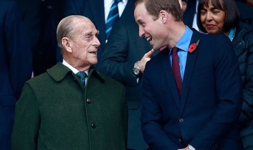 Prince William shares Prince Philip's hilarious quip after unaware boy swore at him