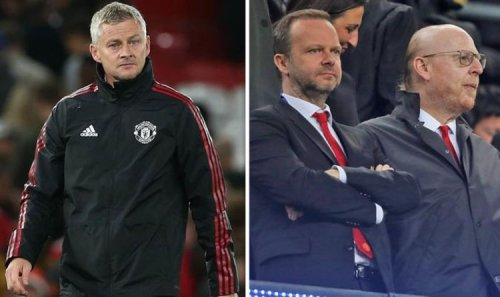 Man Utd owners the Glazers and Ed Woodward agree on Ole Gunnar Solskjaer sack stance