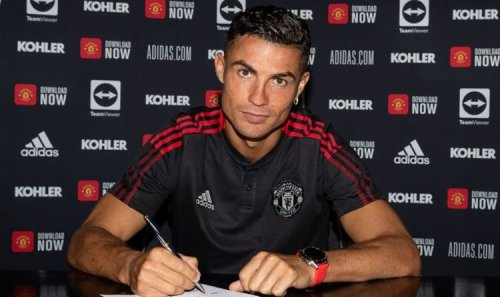 How Man Utd may line up if Cristiano Ronaldo replaces Ole Gunnar Solskjaer as manager
