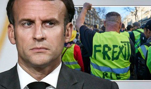 Frexit now! Macron told to 'get out' of EU after US makes plea for VDL to supersize bloc