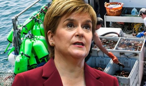 Step up, Nicola! Outrage as Sturgeon's SNP urged to BAN 'destructive' fishing method
