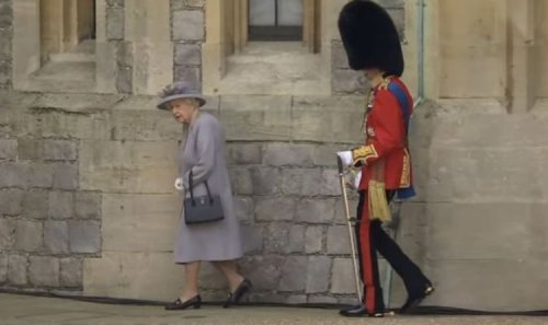 Viewers express concern about 'frail' Duke of Kent - 'Needed more support than Queen'