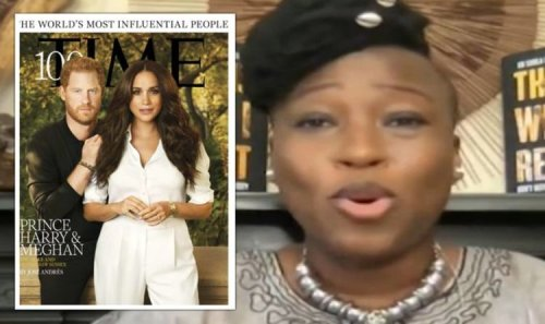 Dr Shola savages attacks on Prince Harry and Meghan's Time cover 'Confidence and love!'
