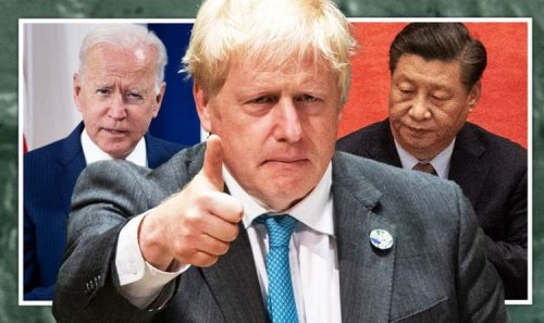 Brexit Britain publishes 10-year plan to rival China and US in race to become 'superpower'