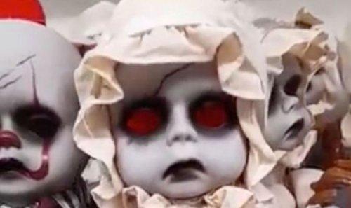 No thanks! Asda shoppers 'physically sick' as Halloween dolls terrify UK
