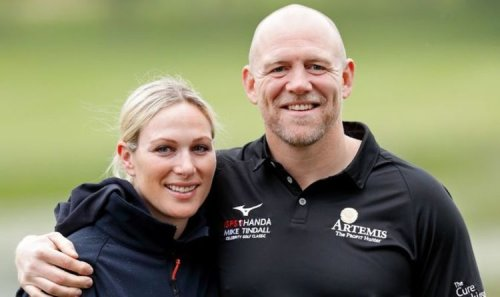 Zara Phillips and Mike Tindall share cute snap at golf fundraiser in joint appearance