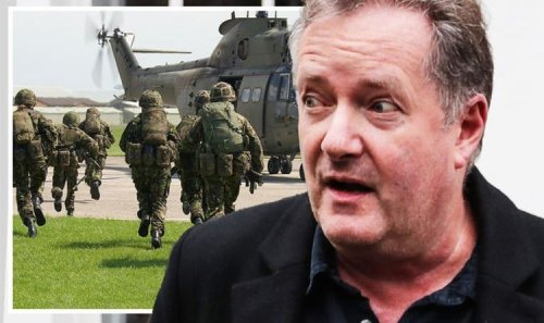 Piers Morgan blows top as 'easily offended' British Army troops banned from saying 'lads'