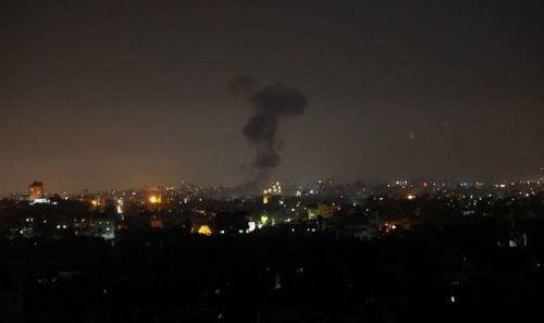 Israel launches second airstrike on Gaza after another 'incendiary balloon' attack