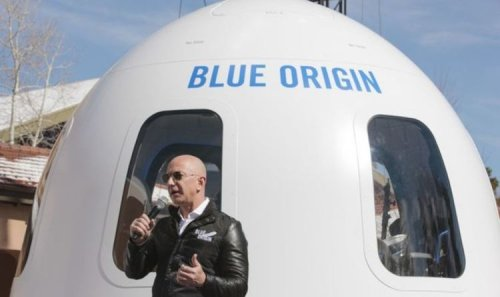 Jeff Bezos: Blue Origin flight to space with Amazon founder sets winning bidder back $28M