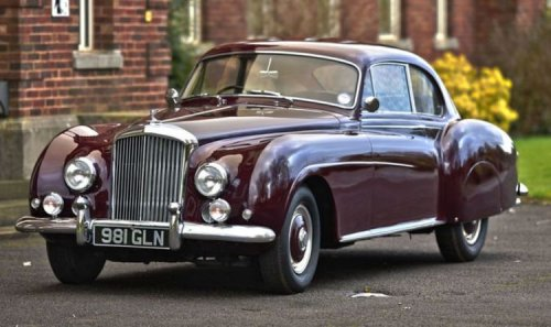 Rare post-war Bentley in 'impeccable condition' available for over £850,000