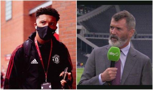 Man Utd hero Roy Keane breaks character with rare show of sympathy for Jadon Sancho