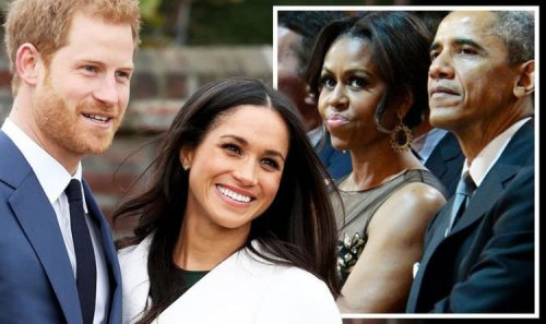 White House next? Meghan Markle and Prince Harry following in footsteps of Obamas