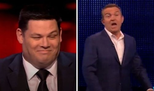 The Chase: Mark Labbett red-faced after mocking Bradley before wrong answer 'Touché'