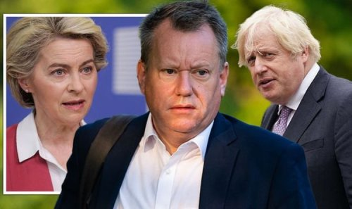 Brexit row escalates as Irish MEP accuses David Frost of 'acting in bad faith'