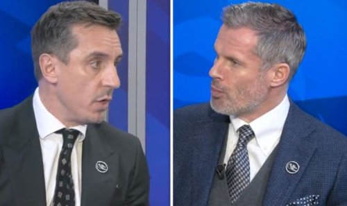Gary Neville and Jamie Carragher agree on Man Utd title chances ahead of Liverpool clash