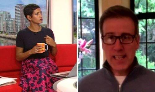 Anton Du Beke reprimanded by Naga Munchetty on BBC Breakfast 'Could've dressed up!'