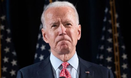 'Tetchy' Joe Biden lashes out at journalist AGAIN as he refuses to answer Covid question