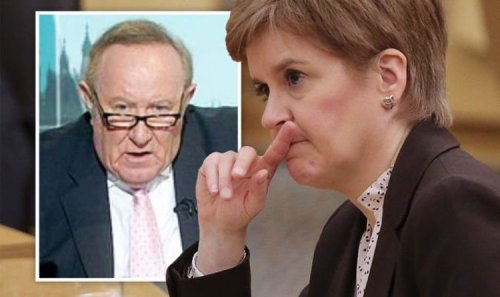Andrew Neil unleashed furious outburst at Sturgeon: 'Scotland stagnating in mediocrity'