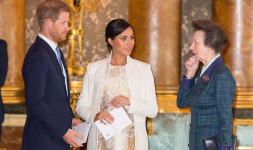 Princess Anne 'aghast' at Prince Harry and Meghan Markle's Royal Family departure