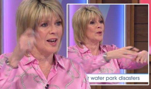 Ruth Langsford mortified as she flashed onlookers after bikini wardrobe malfunction