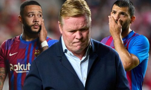 Barcelona sack Ronald Koeman after Rayo Vallecano loss as two managers in frame to come in