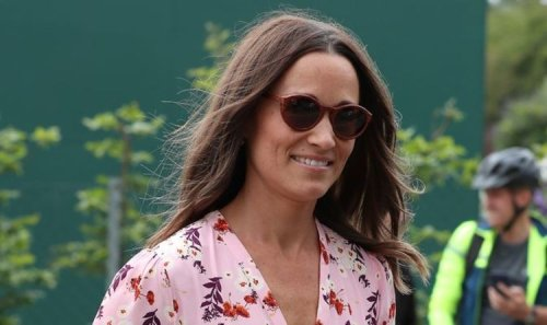 Pippa Middleton seen for first time since brother James' secret wedding in France