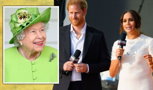 Prince Harry's 'my wife' mention sees him channel Queen in NY speech