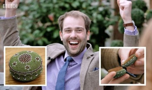 Antiques Road Trip expert rejoices as beaded box bought for £1 makes surprising profit