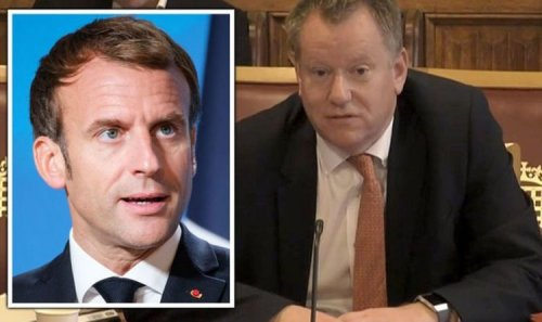 Frost rages at Emmanuel Macron as he lashes out at France manipulating EU in Brexit rows