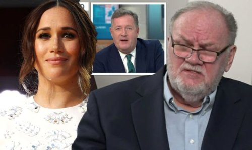 'Piers was right' Meghan Markle's father hits out at Duchess for 'ghosting' family