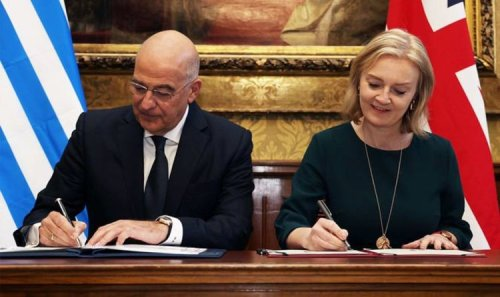 Brexit triumph: Truss does it again as UK signs trade and security deal with Greece