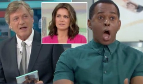 Andi Peters savagely mocks Richard Madeley over son's wedding: 'Keeps going on about it'