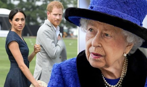 Royal Family LIVE: US fury as Queen urged to strip Meghan Markle and Prince Harry's titles