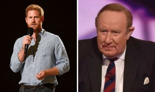 Andrew Neil savages Prince Harry ahead of GB News launch: 'If it means he shuts up'