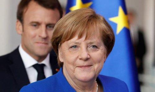 Emmanuel Macron is Merkel's 'bullied spouse!' France fury as leader panders to Germany