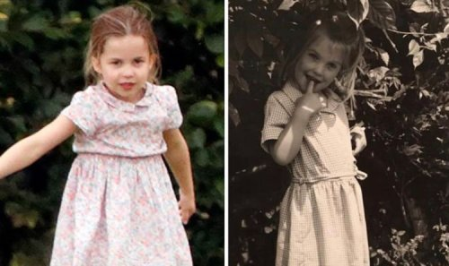 Lady Kitty Spencer looks just like Princess Charlotte in adorable throwback snap