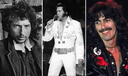 Elvis Presley: When George Harrison, Bob Dylan and David Bowie saw The King in concert