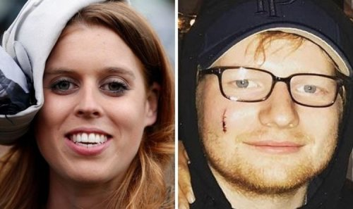 Princess Beatrice branded 'idiot' by manager after Ed Sheeran's face got cut