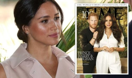 Meghan Markle signifies major change on TIME cover through subtle choice of clothing