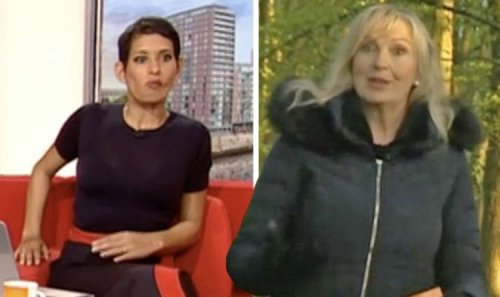 'Let's leave you there!' Carol Kirkwood speechless as Naga Munchetty ends forecast