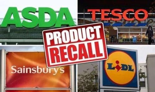 Asda, Tesco, Lidl more recall popular foods amid health allergy fears - full list