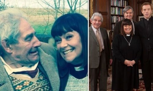 Dawn French heartbroken as Vicar of Dibley co-star Trevor Peacock, 89, dies 'I love you'