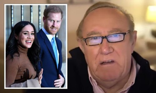 Andrew Neil's swipe at 'publicity-shy minor royals' during Meghan and Harry outburst