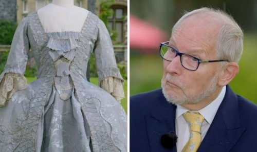 Antiques Roadshow guest surprised by staggering valuation of 1890s gown 'Really?!'
