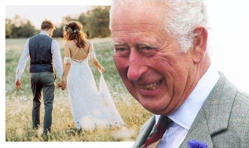 Royal wedding for Mountbatten heir as Prince Charles' godson weds 'mermaid' fiancée